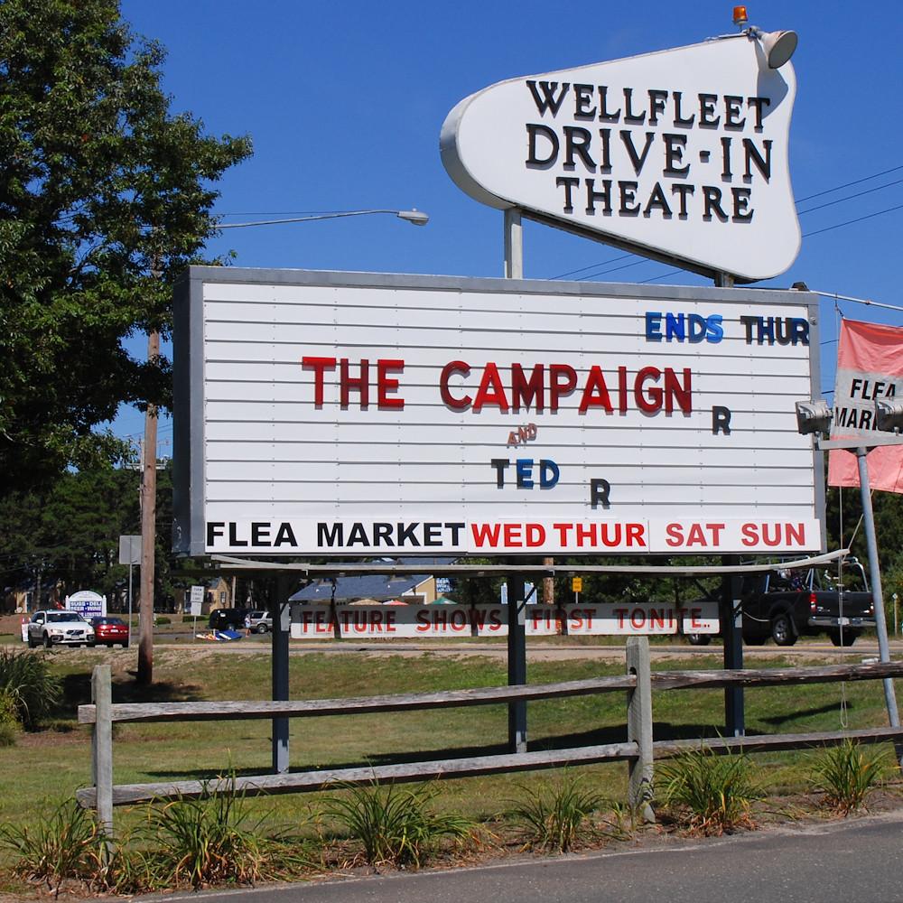 Wellfleet Drive-In Theatre, Cape Cod, MA