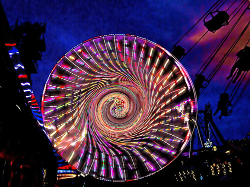 Wildwood Ferris Wheel in Another Dimension | by Rusty Russ