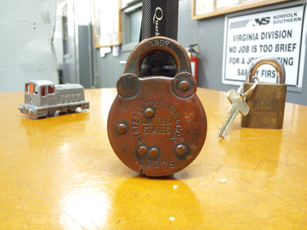 street letter box lock from 1897 is it really that old flickr