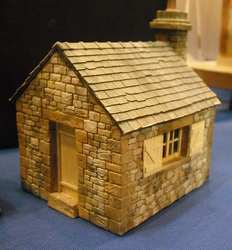 Scratchbuilt Stone Hut | by Phil_Parker