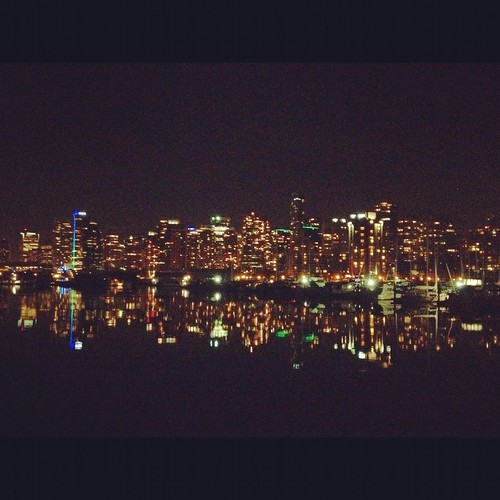 vancouver night view | by helloricecake