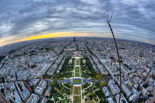 view from effeil tower | by jujernault Thanks for >1,5 Million Views