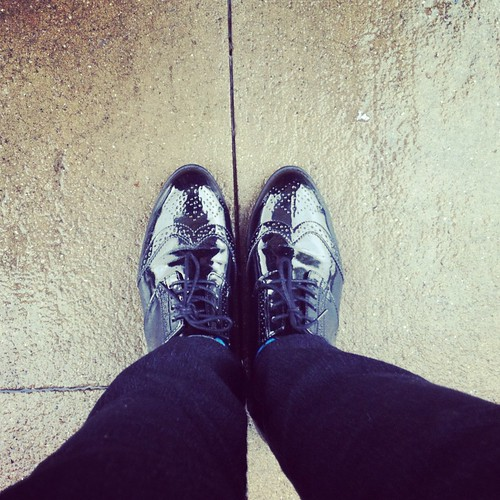 New, shiny oxfords!! | by Nettie C.