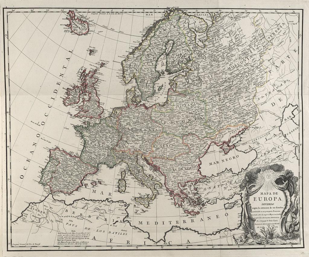 ... Europa Mapas generales 1769 | by Biblioteca Nacional de España