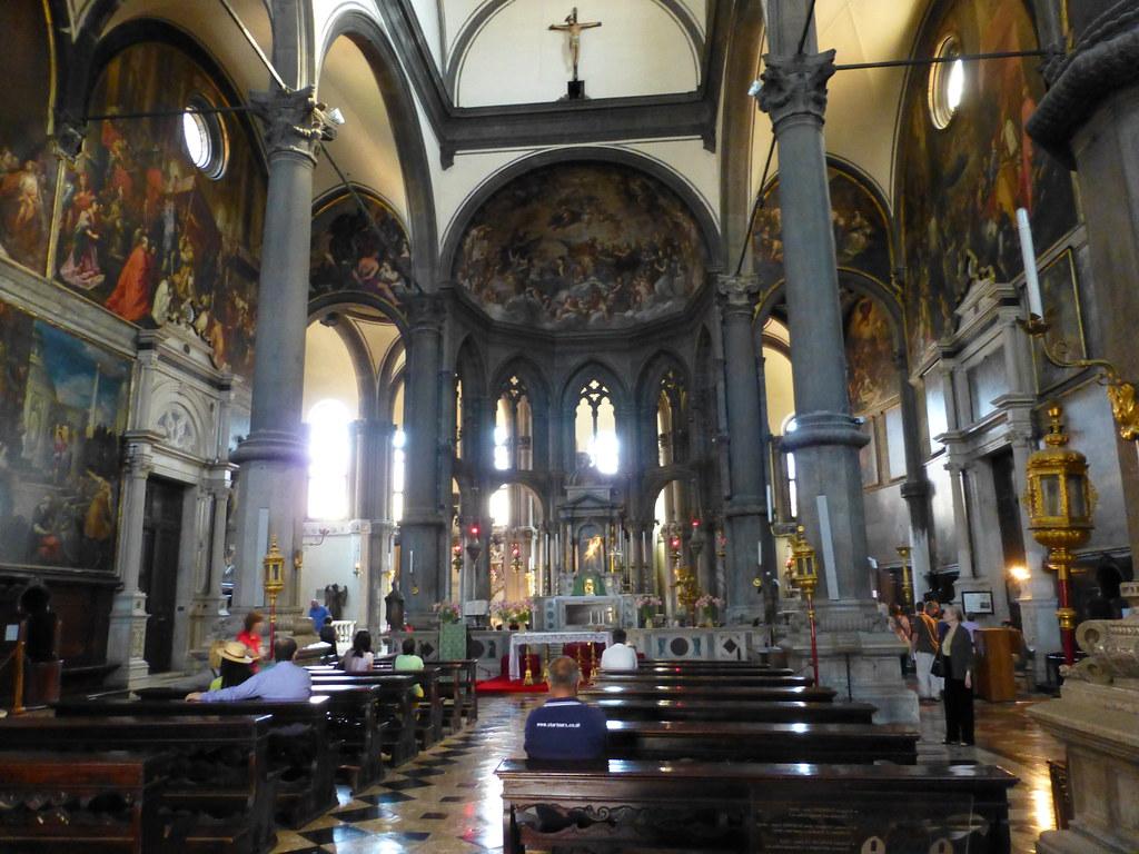 Interno di s zaccaria venezia la chiesa di san zaccaria for Interno s