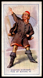 Cigarette Card - Master Mariner 14th Century | by cigcardpix
