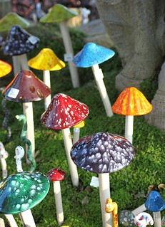 Colorful Mushrooms | by :KayEllen