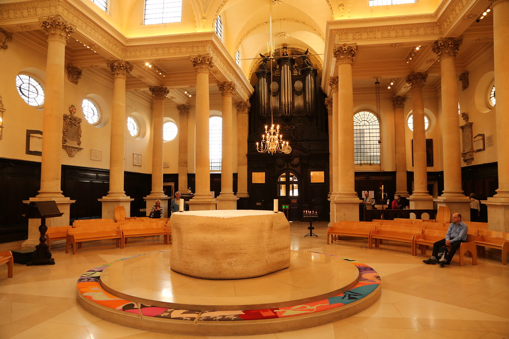 St Stephen Walbrook Church | The Marble Circular Altar Was Du2026 | Flickr