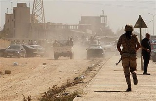 Clashes continue in eastern Libya between the rebel army and rebel militias. The militias who are allied with the puppet General National Congress are also being attacked. | by Pan-African News Wire File Photos