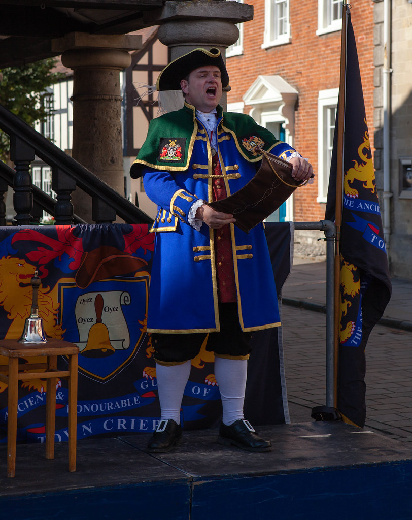 Town Criers In Royal Wootton Bassett A Contest For T Flickr