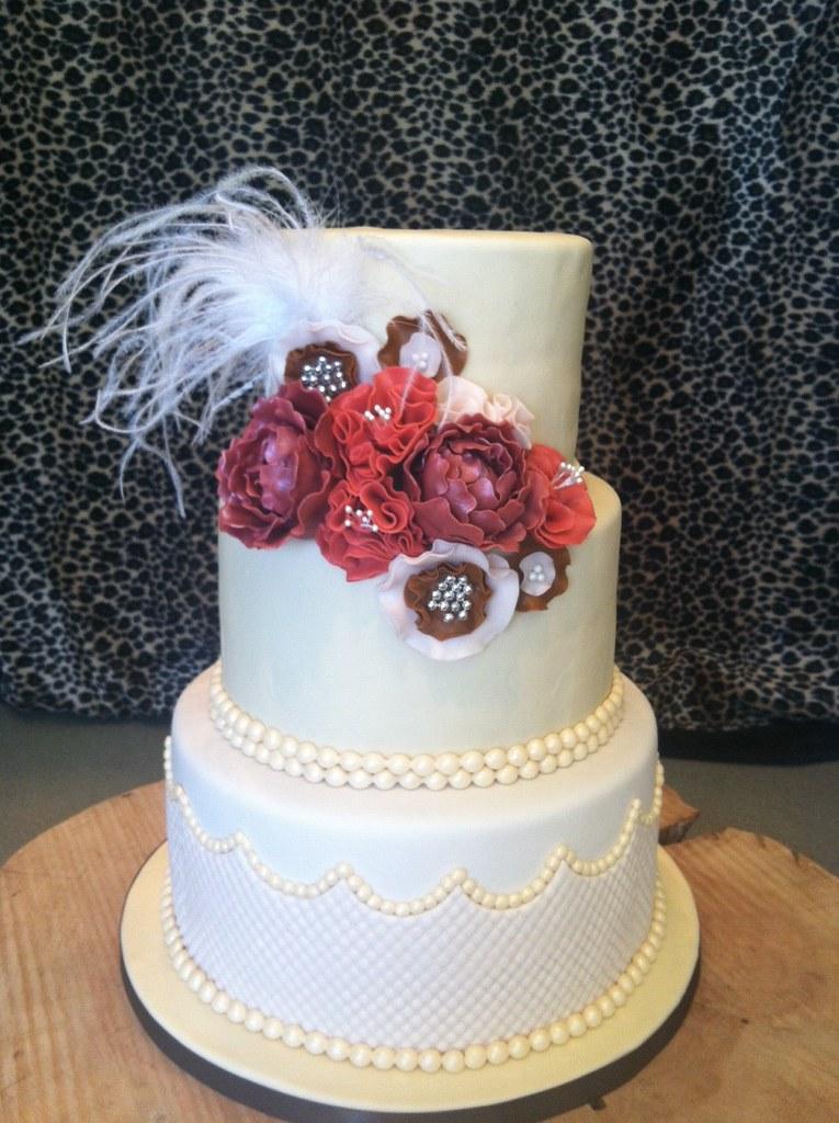 Affton And Bobs Wedding Cake