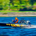 Pro Stock Runabout at Speed