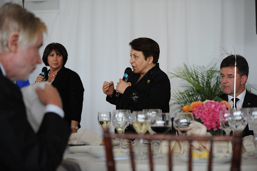 Nobel Laureate Shirin Ebadi, delivers remarks during the High-level Lunch Event on Strengthening Women's Access to Justice, co-hosted by Finland, South Africa and UN Women on 24 September 2012 | by UN Women Gallery