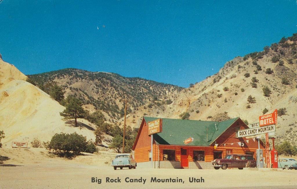 Big Rock Candy Mountain, Utah
