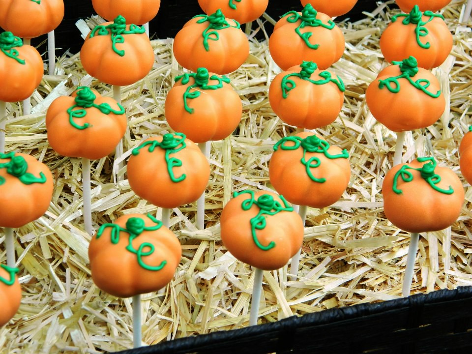 pumpkin cake pops pumpkin cake pops up of the pumpkin patch c 6849
