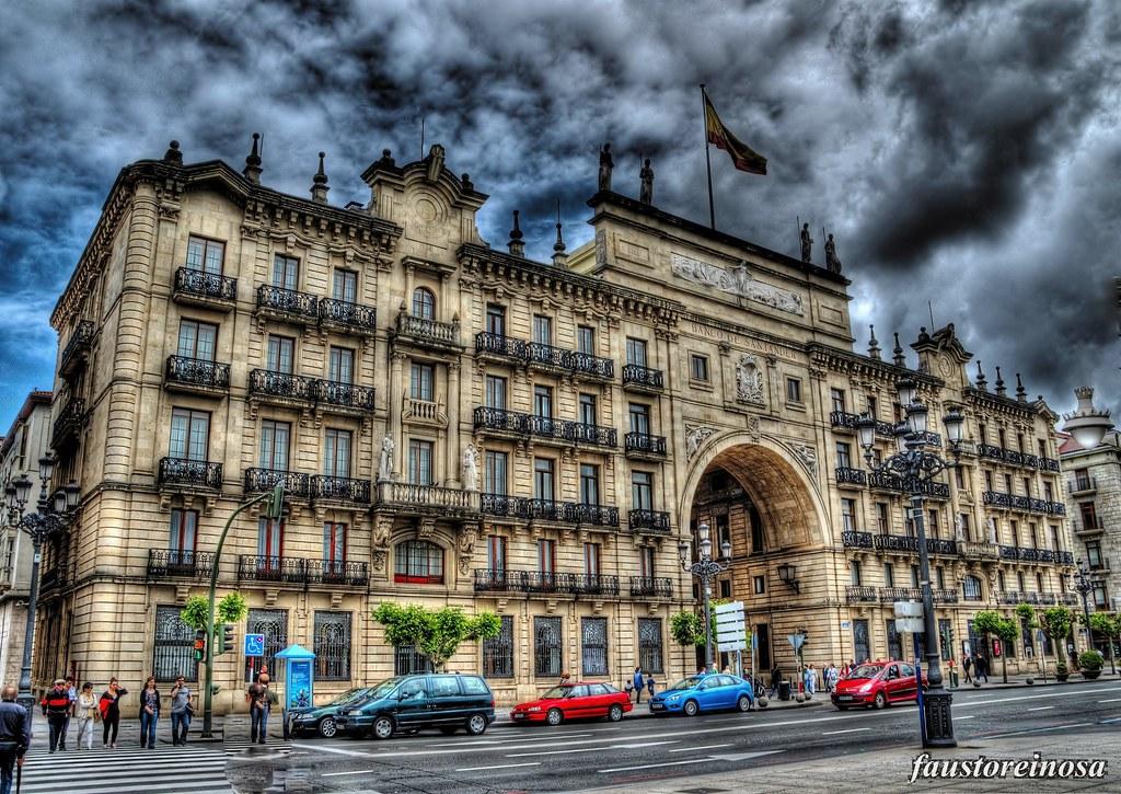 Santander edificio banco santander el edificio del banco flickr - Casas de banco santander ...