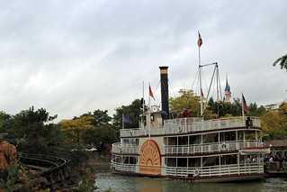 Paddle steamer | by House Of Secrets Incorporated