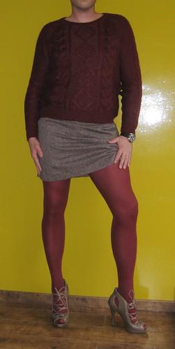 I love heels skirts and tights | Denier26