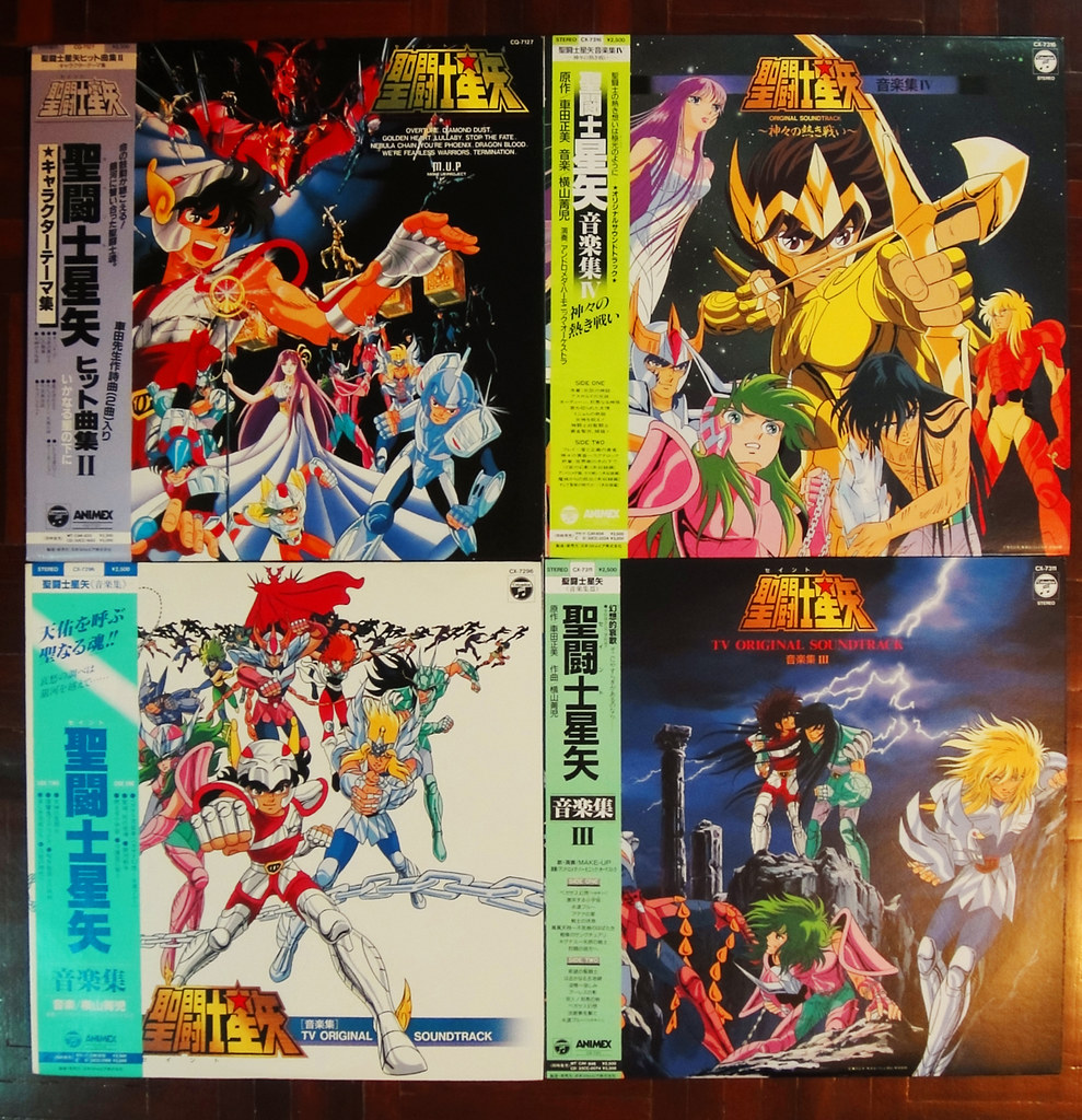 music saint seiya