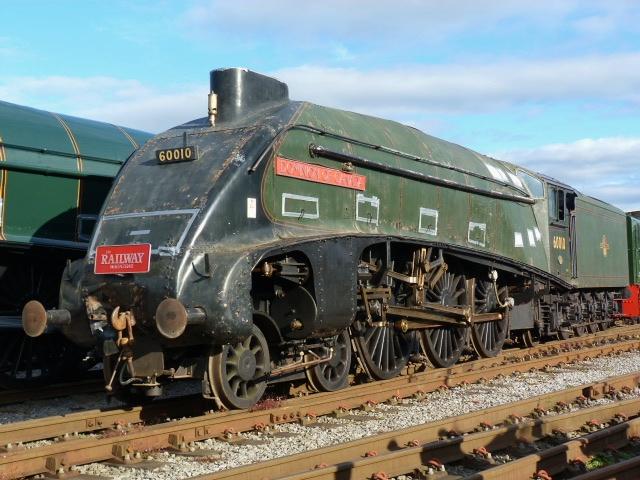 60010 Dominion Of Canada At NRM Shildon Class A4 4 6 2