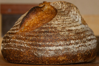 Vermont Sourdough with Increased Wholegrain—Well-proofed Boule, Crust | by Tuirgin