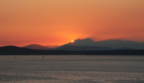 Sunset Over Puget Sound | by Han Shot First