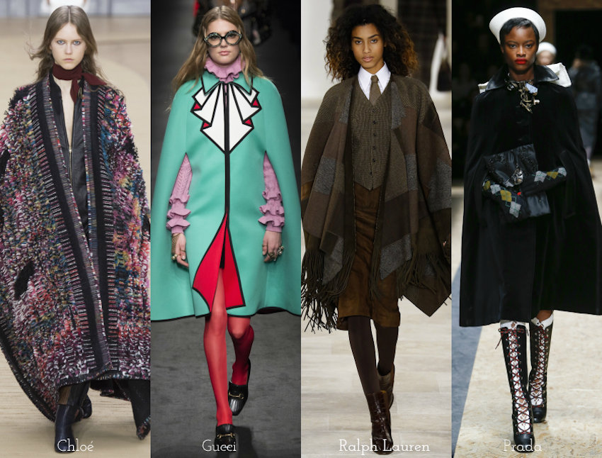 Trend Report: A/W 2016: Capes