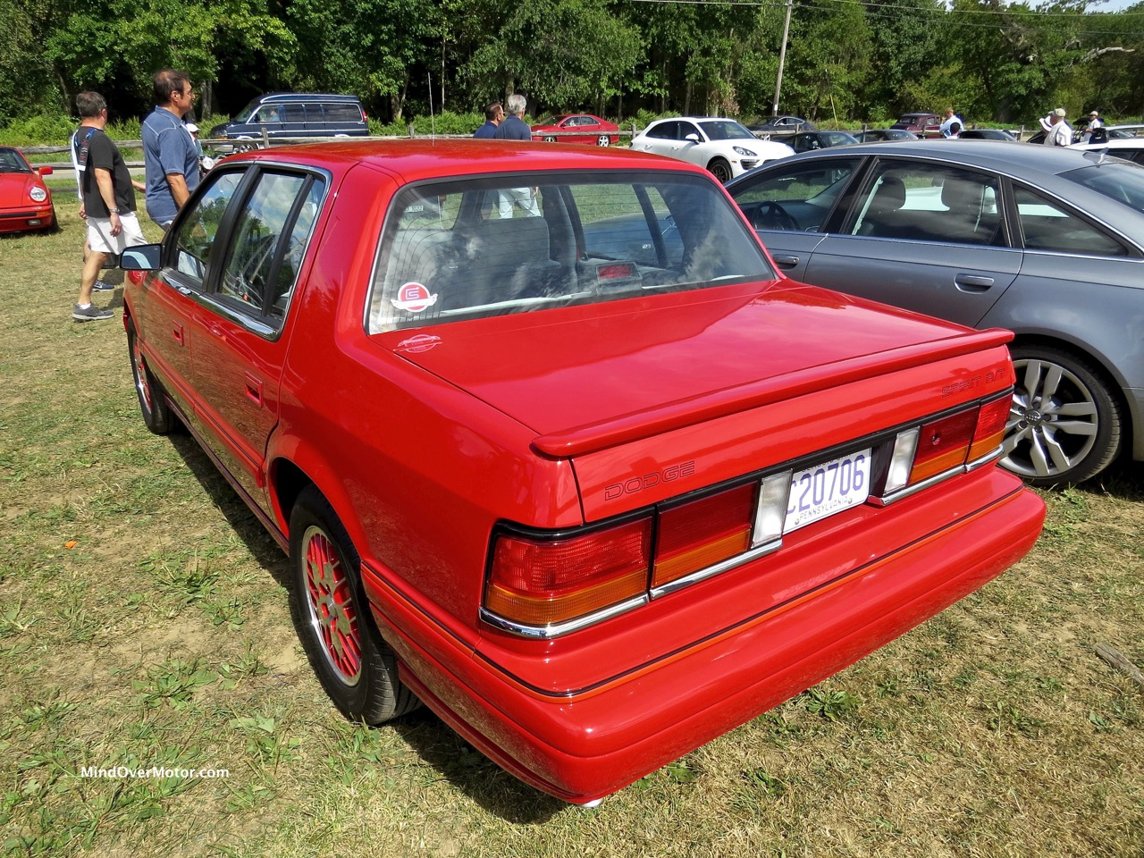 1991 Dodge Spirit R:T Rear 2