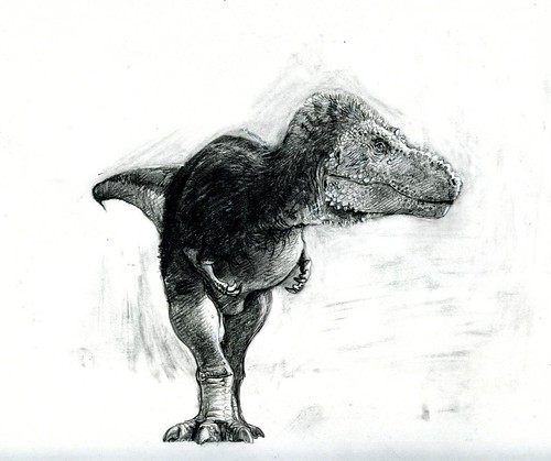 feathered tyrannosaurus | by paul heaston