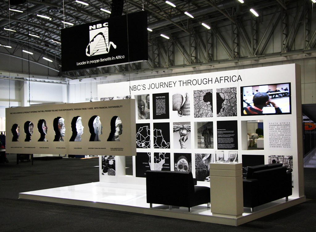 Modern Exhibition Stand Jobs : Nbc exhibition stand irf over all view of