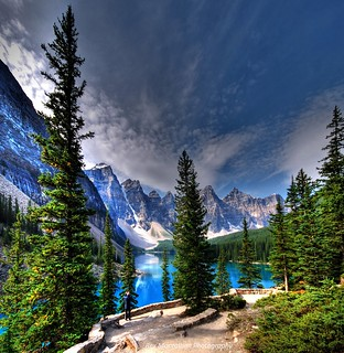 valley of the ten peaks at moraine lake  (banff national park) | by Rex Montalban Photography