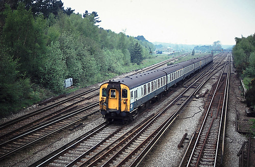 Petts Wood Class 411 7175 Charing Cross to Margate May 80 J6904 | by DavidWF2009