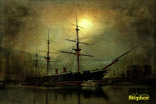 ~~ Warrior ~Portsmouth~Textured | by stephgum32807