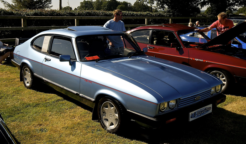 Cars Of Ford >> Ford Capri 2.8 Injection 1984 | Classic Cars By The Lake 9-9… | Flickr