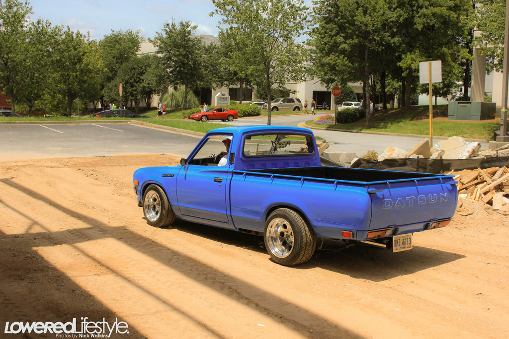 Datsun 620 - Lil Hustler | Lowered Lifestyle | Flickr  Datsun 620 - Li...