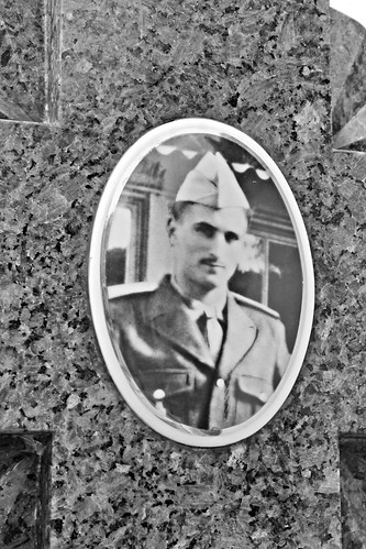 Photo ceramic of a smart WWII soldier | by S. Ruehlow