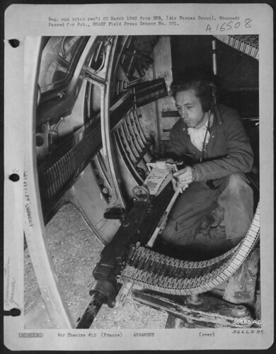 Martin B 26 Marauder Gunner S Sgt Richard J Hightower