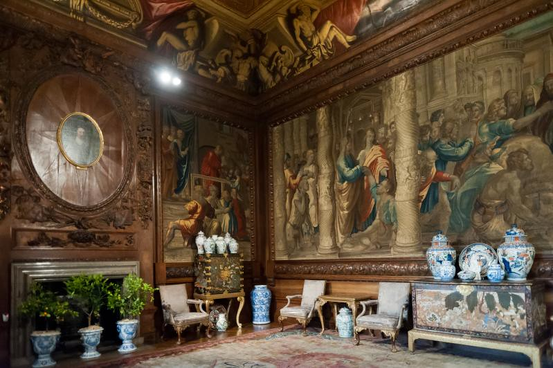 State Drawing Room Chatsworth Bakewell Derbyshire