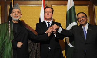 PM with Presidents Zardari and Karzai | by The Prime Minister's Office