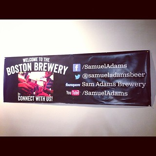 THAT is how you list your social media outposts. Good job @samueladamsbeer | by stevegarfield