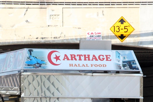Carthage Halal Food (detail of signage), Jamaica, Queens | by Eating In Translation