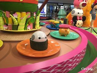 CIRCLEG 九龍塘 又一城 DISNEY TSUM TSUM 壽司 「Disney Tsum Tsum Walk N Roll Festival (7)