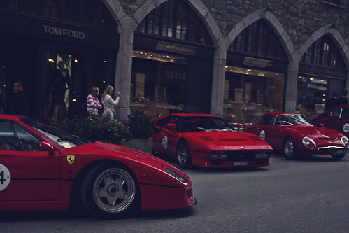 F40 meets 288 | by Daniel 5tocker