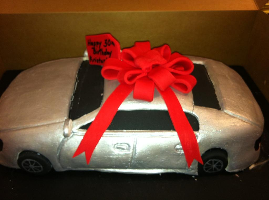 Cars Cake Design Red Ribbon : Car Cake, New Car, Red Ribbon Ms Goody Cupcake, 1838 ...
