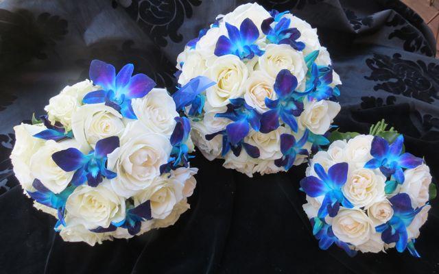 Blue Orchid Wedding Bouquets | www.fbdesign.com.au P 234 Bri… | Flickr