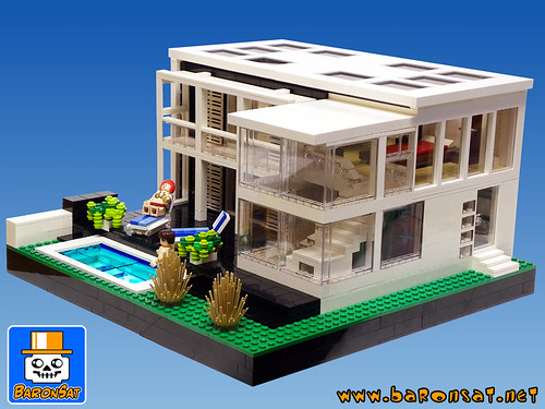 Villa 02 sci fi movies and tv shows are great but from tim flickr - Lego architecture maison blanche ...