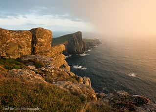Rainy Sunset at Neist Point | by Panorama Paul