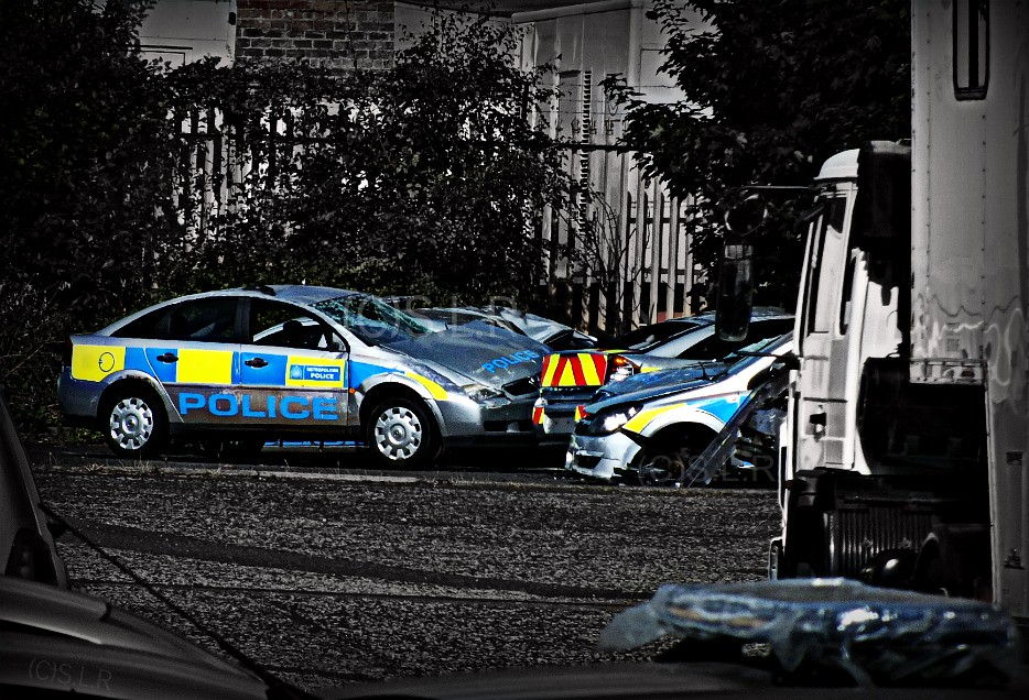 ... Fast And Furious 6   Police Car Grave Yard | By S.L.R