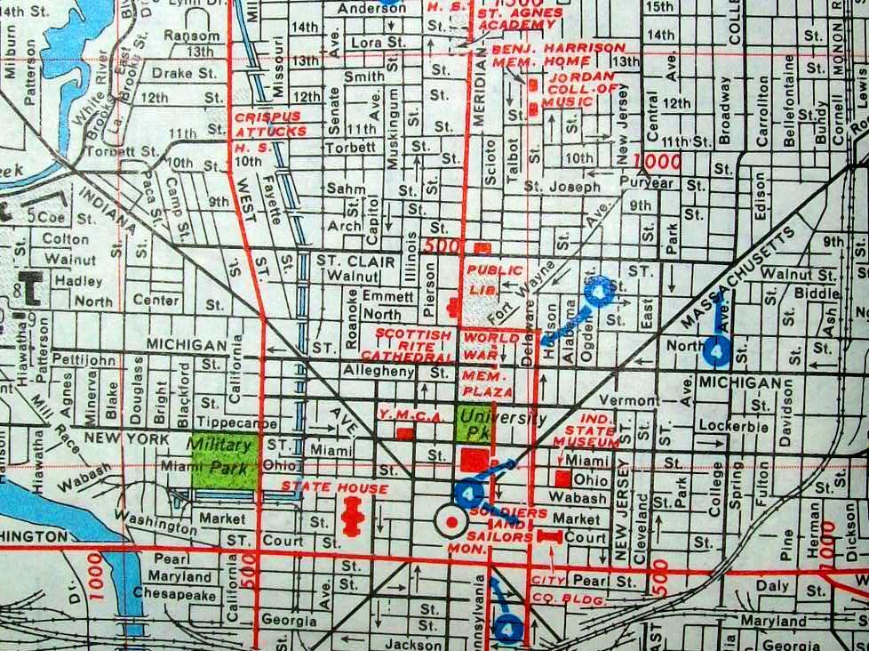 rand mcnally miami street map