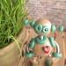 Plix Patina Garden Robot Sculpture